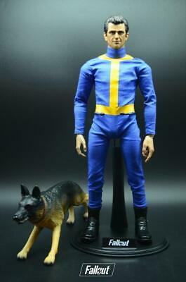 "1//6th Scale Fallout Refuge Vault Dweller Boots Model For 12/"" Male Action Figure"