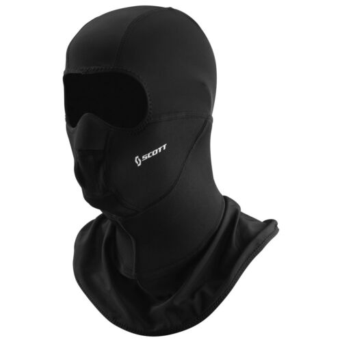Scott face Heater Hood motocicleta//bicicleta//ski cara Mask negro