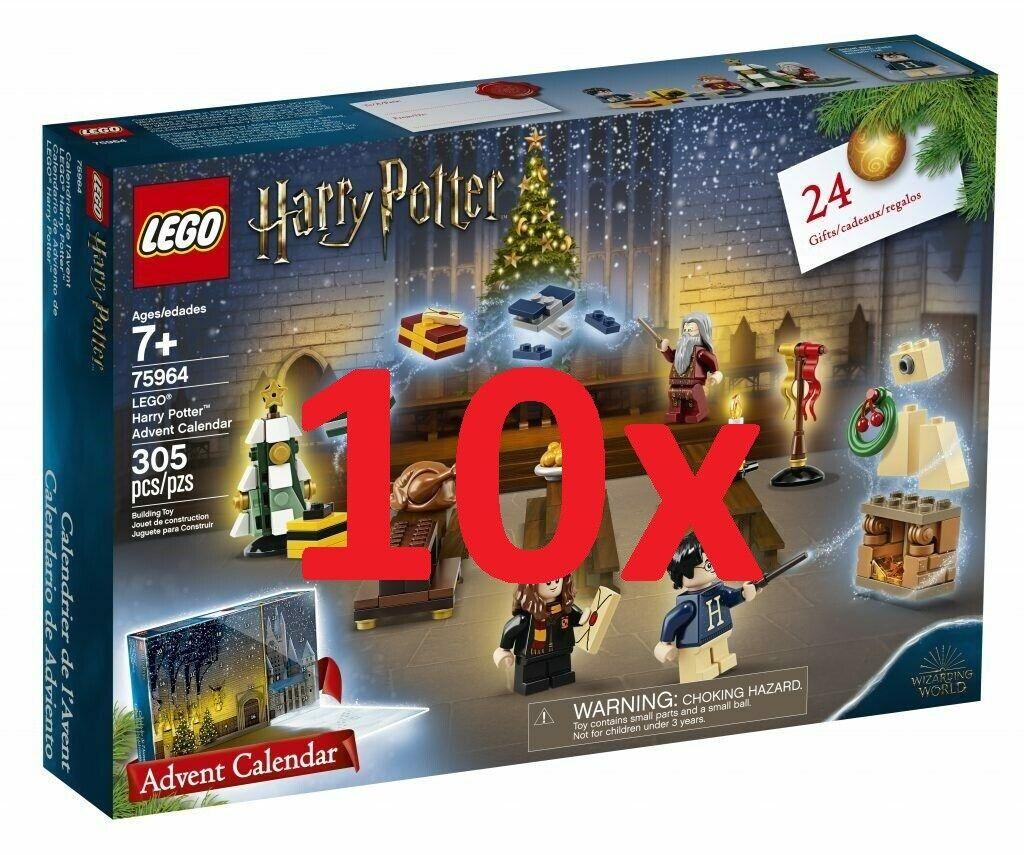LEGO®  10x 75964 HARRY POTTER - Advent Calendar YEAR 2019 - DIRECT SHIPPING  vendite online