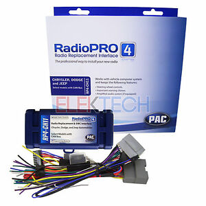 Details about Radio Replacement Interface RP4-CH11 w/Steering Wheel on