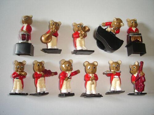 TEDDY BEARS ORCHESTRA TEDDIES BAND FIGURINES SET MARAJA FIGURES COLLECTIBLES