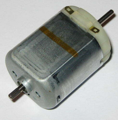 Small Hobby Motor 4.5 V DC Dual 2mm Diameter Shaft Mabuchi FC-280SA Motor