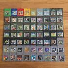 Gameboy Color Games Pokemon Mario Zelda TMNT Kirby Pacman Nintendo Game Boy Game
