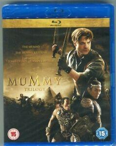 La trilogía de la momia Blu-ray (NUEVA PRECINTADA) EN CASTELLANO.REGION LIBRE.