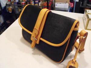 de de bolso de Fabuloso Bourke color negro becerro de de piel piel nilón bandolera negro wBOXxqS
