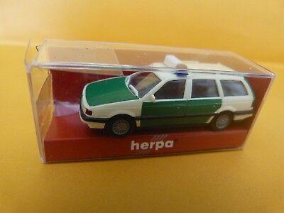 1/87 Ho. Lot De 3 Herpa .breack Mercedes Et Passat Police / Fourgon Sixt