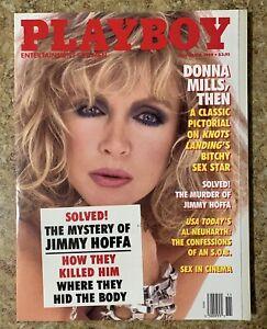 Vintage November 1989 Playboy Donna Mills Pictorial   eBay