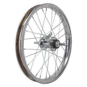 Wheel-Master-16-034-Bicycle-Rear-Wheel-Coaster-Brake-KT-3-8-034-Axle-Silver
