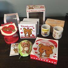 San-X Rilakkuma Lot- Six Items, Household Items
