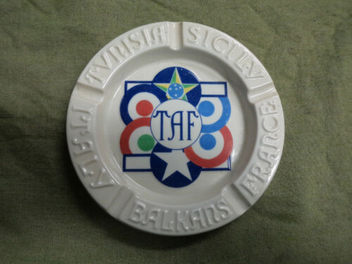 #DD7. MILITARIA TAF, TACTICAL AIR FORCE ASHTRAY