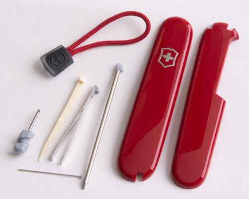 mit roter Kordel Victorinox Ersatzteil Set Plus für 91er Messer