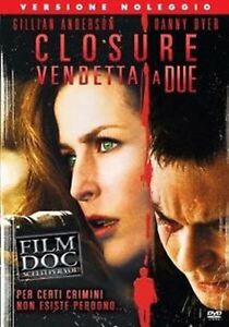 Closure Vendetta a Due DVD Rent Nuovo Sigillato Gillian Anderson Danny Dyer