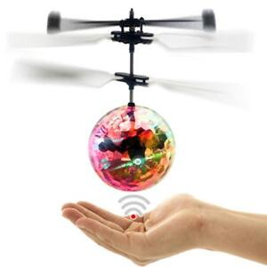 Electric-RC-Flying-Ball-Infrared-Induction-Aircraft-LED-Flash-Light-Kids-Toy-JS