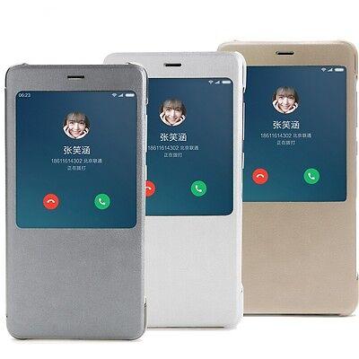 Xiaomi Mi Redmi Note 4 Official Smart View Flip Full Body Protective Case Cover