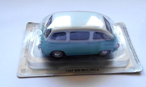 FIAT 600 MULTIPLA Die cast 1//43 Europa dell/' Est