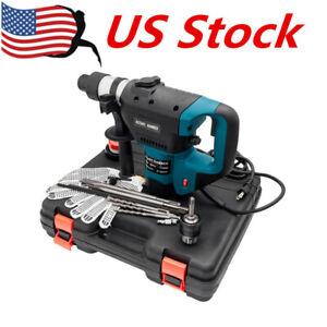 1-1-2-034-SDS-Electric-Rotary-Hammer-Drill-110V-Concrete-Tile-Breaker-Chisel-US