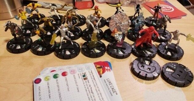 Marvel HeroClix Age of Ultron - Commons, Uncommons and Rares - 23 figures
