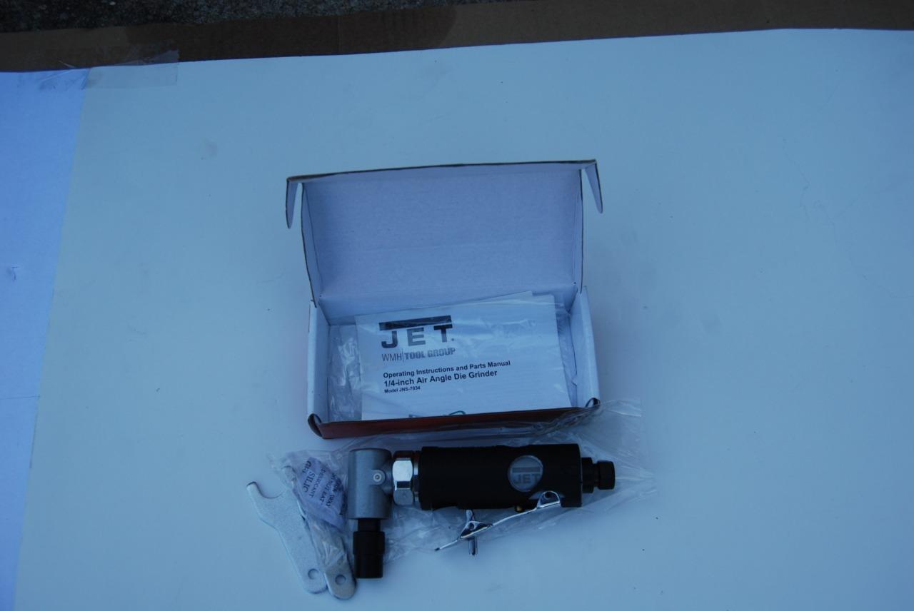 JET JNS-7034 ANGLE DIE GRINDER NEW IN BOX