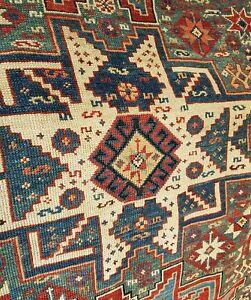 Shirvan antico tappeto caucasico - Lesghi - Antik caucasian rug - Italia - Shirvan antico tappeto caucasico - Lesghi - Antik caucasian rug - Italia