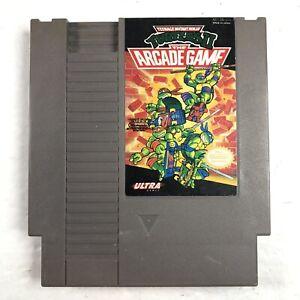 Teenage-Mutant-Ninja-Turtles-2-The-Arcade-Game-Nintendo-NES-Tested-Working
