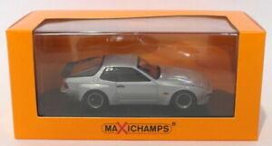 Maxichamps-1-43-SCALA-DIECAST-940-066122-1981-PORSCHE-924-GT-Argento
