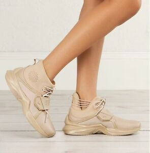 f8a9e5045d5d36 NIB WOMENS PUMA X FENTY HI TRAINER SESAME BROWN RIHANNA FASHION ...