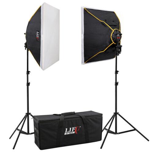 la luz del día-studioset Life of photo Daylight duración luz-set fs-5070-2 8x30 W