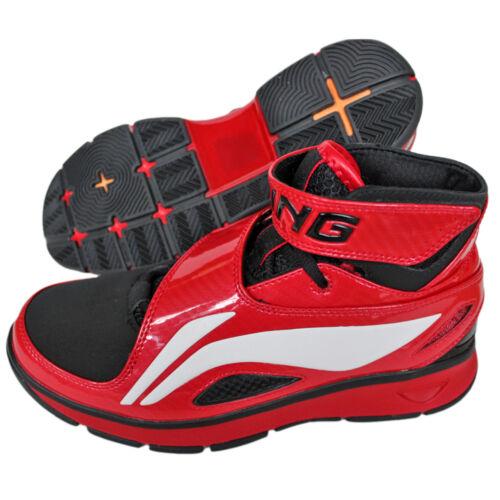 40-47 Li Ning B573 Hi Schuhe Sneaker Turnschuhe Basketballschuhe ROT Herren Gr