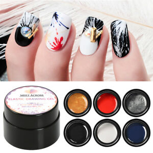 Creative Plastic Silk Drawing Spider Nail Gel Point To Line Painting Gel Lacquer Varnish Pulling Silk Spider Nail Art Gelpolish Beauty & Health