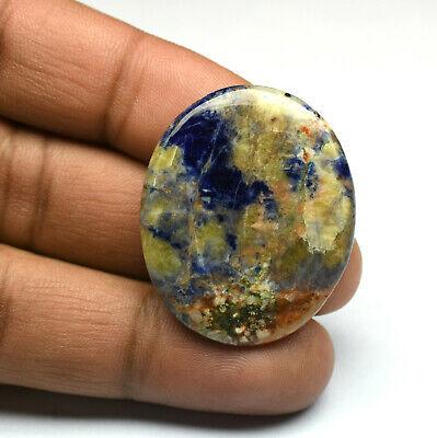 AAA Top Quality Amazing Blue Sodalite Cabochon Pair Oval Shape Gemstone   Sodalite 25x15.5x4mm Pairs Stone  Purple Sodalite Gemstones