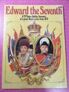 1977-TV-Times-Jubilee-Souvenir-Magazine-EDWARD-THE-SEVENTH-Royal-ATV-TV-Series