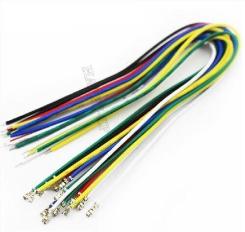 50Pcs Dupont Connecteur Broche Fil 24Awg L = 25Cm Rouge ro