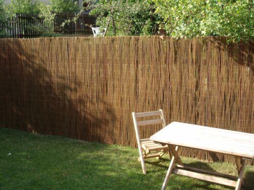 Willow Fence Garden Screening 3 meters long
