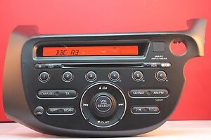 Honda Jazz Car Cd Radio Player Aux 2008 2009 2010 2011