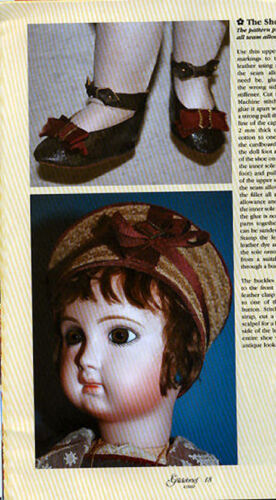 Gildebrief 4//2007 Dollmaking Antique Dress Patterns Knitted Outfit Jumeau