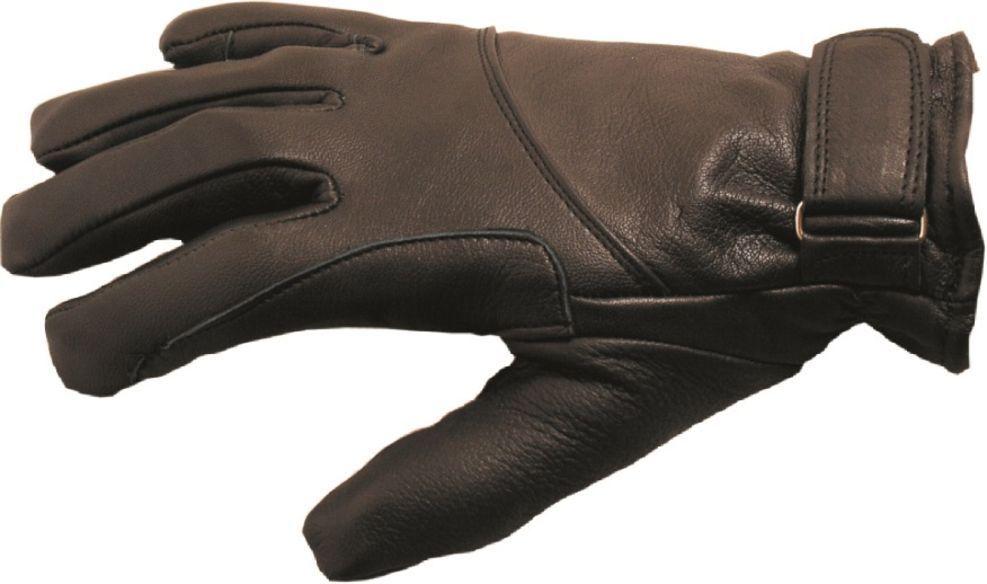 Lederhandschuhe Cowboy Western black Leder Handschuhe Gr. S ungefüttert