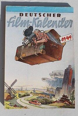 AnpassungsfäHig 28640 Deutscher Film-kalender 1949 Mit Schauspieler Fotos Viel Defa Filmverlag Filme & Dvds