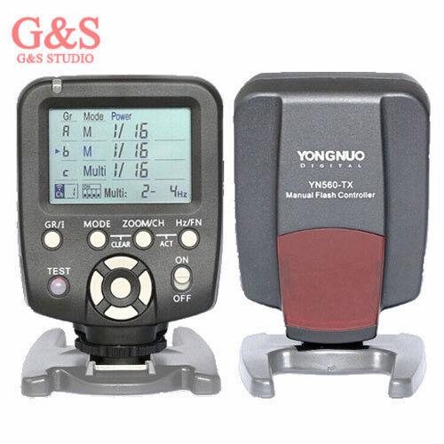 Responsable Yongnuo Yn560-tx For Nikon Wireless Flash Controller And Commander Yn-560tx N