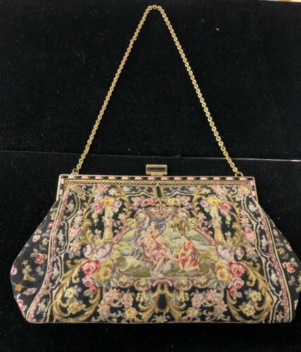 Tapestry Bag with Beautiful Frame