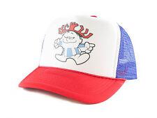 89a19d1a66c Mato Hemp Trucker Hat Flat Brim Snapback Net Mesh Baseball Cap Black ...