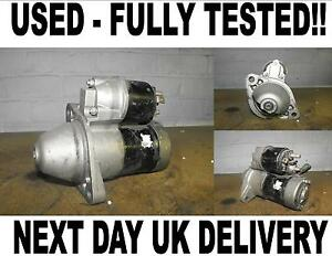 vauxhall opel astra g mk4 mk5 1 7 cdti dti starter motor 2000 2006 ebay. Black Bedroom Furniture Sets. Home Design Ideas