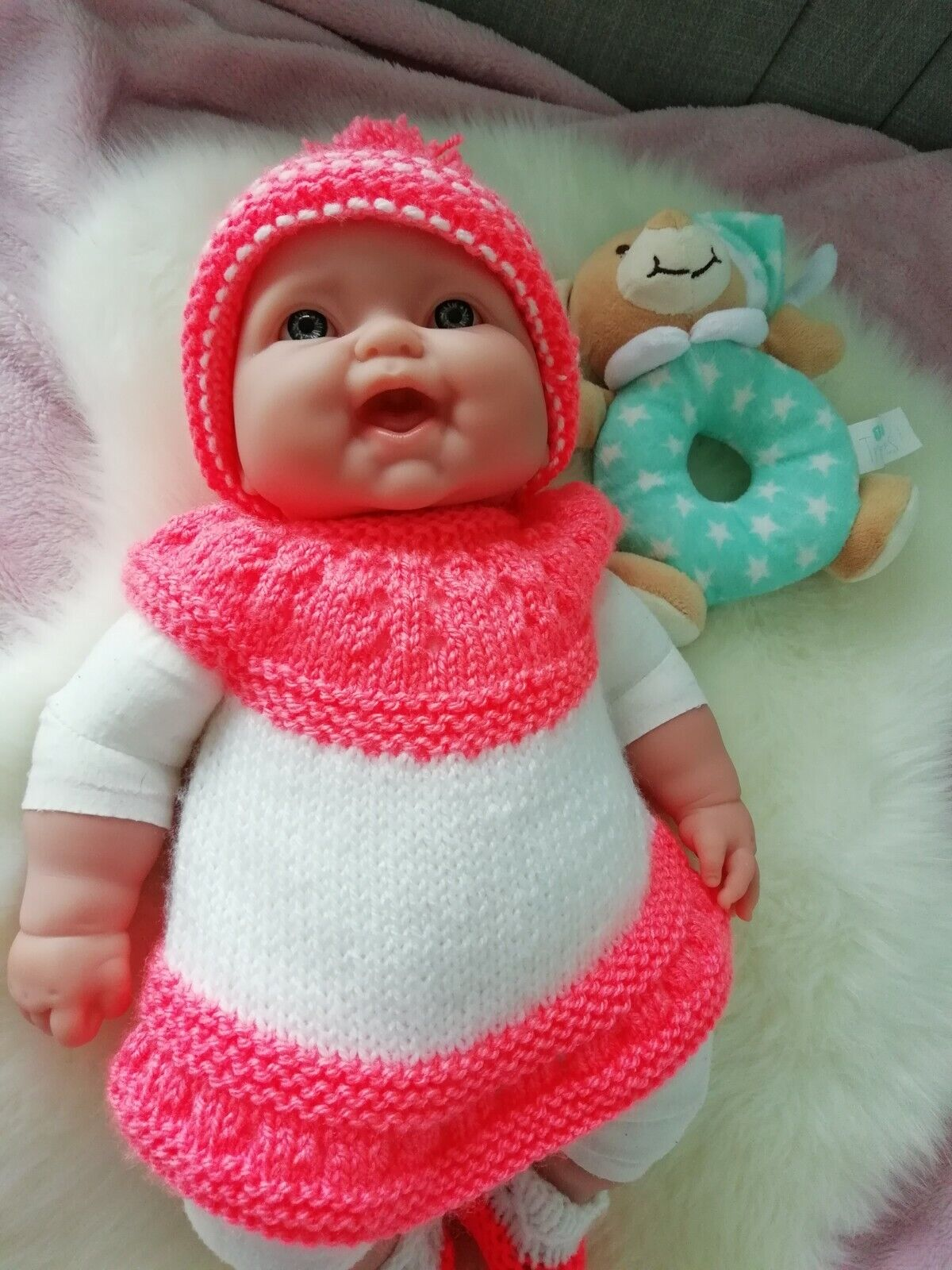Berenguer Baby Doll, Incl clothes and Teddy