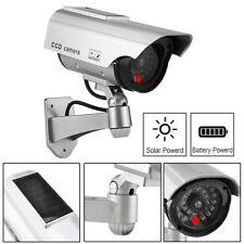 item 2 solar power cctv fake dummy security camera flashing red led light cam 4x 2x solar power cctv fake dummy security camera flashing red led light cam