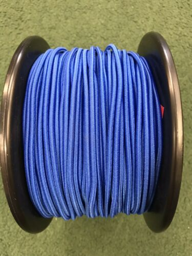 7 Metres Of 3 mm Replacement shock cord//elastic For Fiberglass Tent Poles-blue