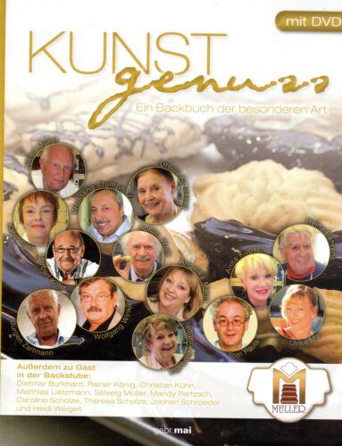 1 von 1 - KUNSTGENUSS - Backen mit DDR Stars u.a. Herbert Köfer , Katrin Sass BUCH & DVD