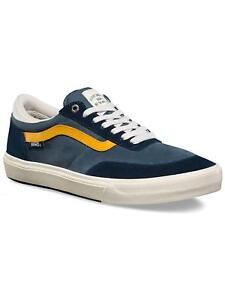 ff7764b493d549 Vans GILBERT CROCKETT ANTIQUE NAVY BLUE YELLOW Mens Skate Shoes 6.5 ...