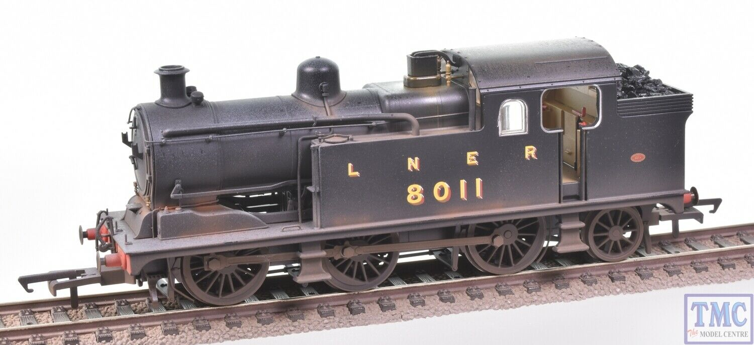 OR76N7002 Oxford Rail OO Class N7 0-6-2T 8011 LNER Coal & ED Weathering