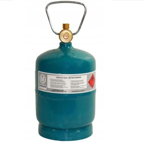 Leere befüllbare Gasflasche Propan Butan Grill Camping Umfüllschlauch 0.5-5kg