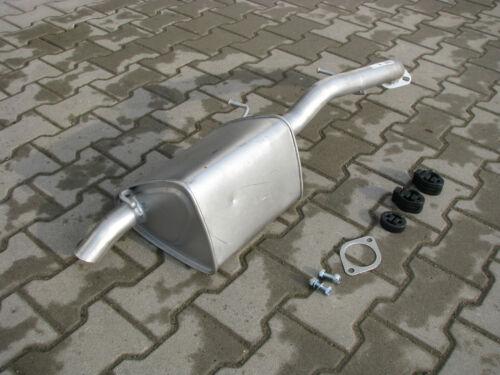 Auspuff für Mazda 5 2.0 TD Turbo Diesel 02//2005-05//2010 Endschalldämpfer *F073