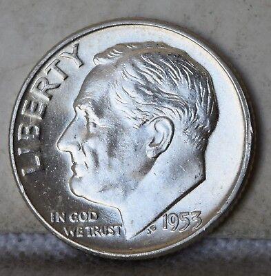 """1946-D Roosevelt Dime /""""Gem BU/"""" *Free S//H After 1st Item*"""